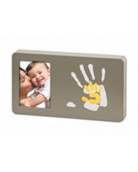 Baby Art Duo Paint Print frame - Taupe&Sun