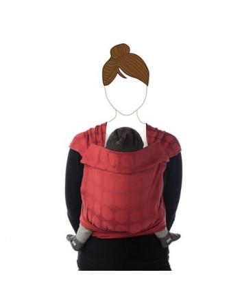Šatka na nosenie detí Babylonia BB - TAI - red chili