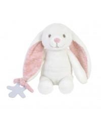 Bam Bam Plyšová hračka Zajko v krabičke - Ružový