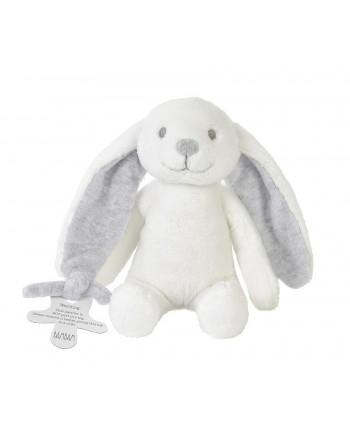 Bam Bam Plyšová hračka Zajko v krabičke - Sivý