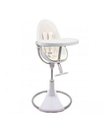 Detská stolička Bloom Fresco Chrome™ Biela - rám