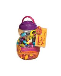 B-Toys Navliekacie korále a tvary Pop Arty 500 ks