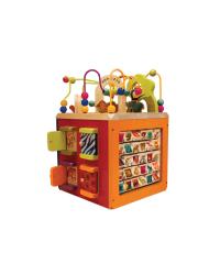 B-Toys Interaktívna kocka Zany Zoo