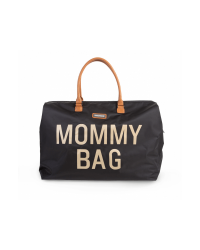 Childhome Prebaľovacia taška Mommy Bag BIG - Black/Gold