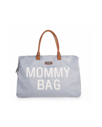 Childhome Prebaľovacia taška Mommy Bag BIG - Grey/Off white