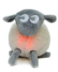 Uspávacia ovečka Ewan - sivá