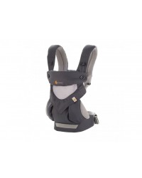 Ergobaby nosič Four Position 360° Cool Air - Carbon/Grey