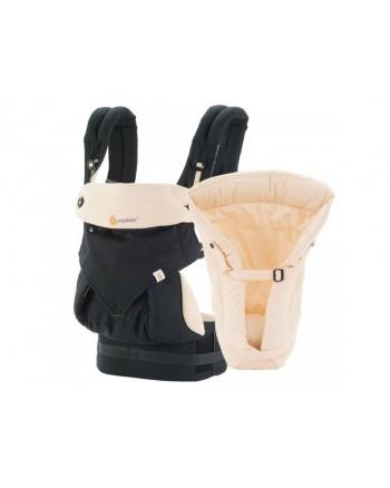 Ergobaby nosič Set Bundle - 360 Black/Camel