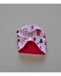Čiapka Happy Babies - Ružoví panáci
