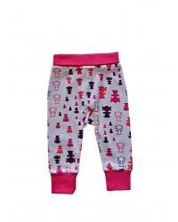Pudlové nohavice Happy Babies - Ružoví panáci