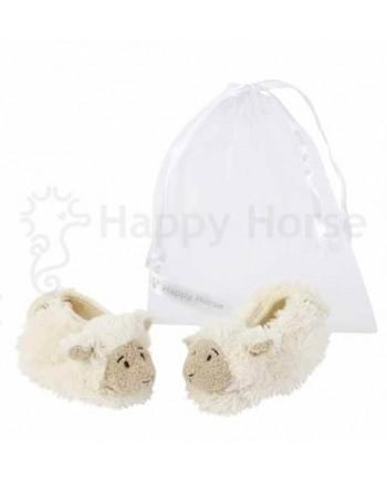 Plyšové papučky HAPPY HORSE Ovečka  (vo vrecúšku)