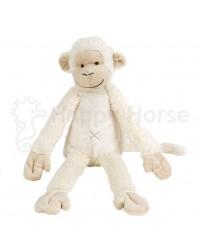 Plyšová hračka HAPPY HORSE Smotanová Opička Mickey No. 2