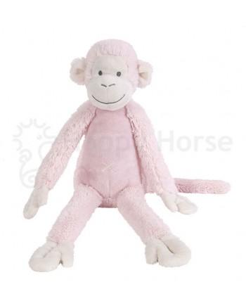 Plyšová hračka HAPPY HORSE Ružová Opička Mickey No. 2