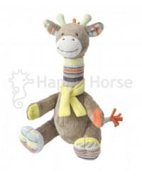 Plyšová hračka HAPPY HORSE Žirafka GOGO