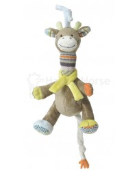 Hračka s melódiou HAPPY HORSE Žirafka GOGO