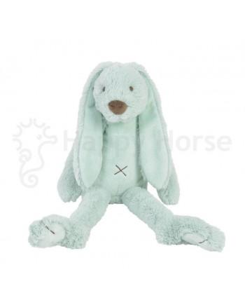 Plyšová hračka HAPPY HORSE Tyrkysový BIG zajko RICHIE