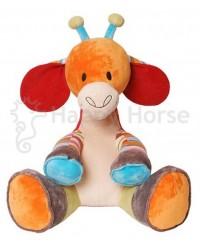 Plyšová hračka HAPPY HORSE Žirafka GIRO