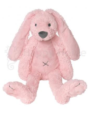 Plyšová hračka HAPPY HORSE Ružový zajko RICHIE