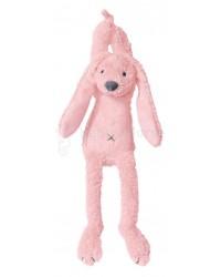 Hračka s melódiou HAPPY HORSE Ružový zajko RICHIE