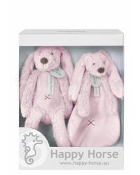 Darčekový set Happy Horse Zajačik Richie ružový