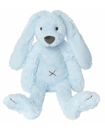 Plyšová hračka HAPPY HORSE Modrý BIG zajko RICHIE