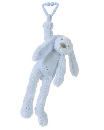 Hračka na zavesenie HAPPY HORSE Modrý zajko RICHIE