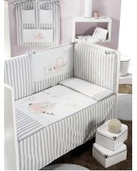 2-dielna posteľná súprava Interbaby - Autíčko