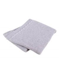 Interbaby Pletená deka jemná - sivá