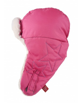 Detská čiapka KAISER star - Pink
