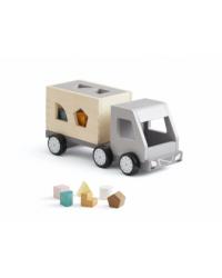 Kids Concept Drevený nákladiak s kockami Aiden