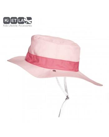 Obojstranný klobúčik Kietla s UV ochranou - Panama Pink