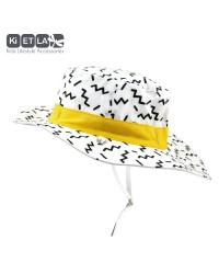 Obojstranný klobúčik Kietla s UV ochranou - Zig Zag
