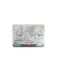 Little Dutch Vkladacie puzzle - Mesto