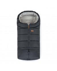 Petite&Mars Nastaviteľný fusak 3v1 Jibot Charcoal Grey