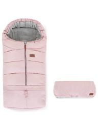 Petite&Mars Set fusak 3v1 Jibot a rukávnik Jinja Flamingo Pink