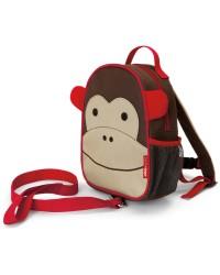 SKIP HOP Mini batoh Zoo s vodítkom - Opička