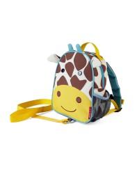 SKIP HOP Mini batoh Zoo s vodítkom - Žirafa