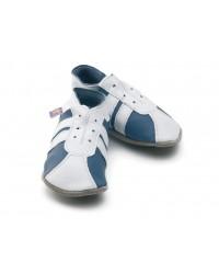 Kožené topánočky STARCHILD - Sporty Blue / White