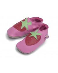 Kožené topánočky STARCHILD - Strawberry Pink