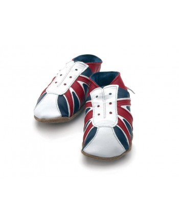 Kožené topánočky STARCHILD - UK Trainer - KIDS