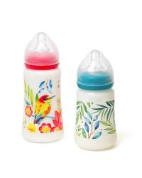 Sada dojčenských fliaš Tommy Lise Blooming Day 250ml + 360 ml