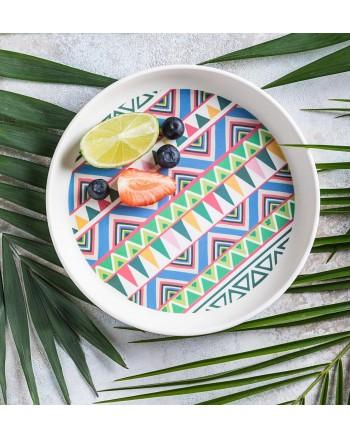 Tommy Lise Ethnic Festive Bambusový tanier