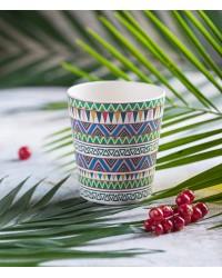 Tommy Lise Ethnic Festive Bambusový hrnček