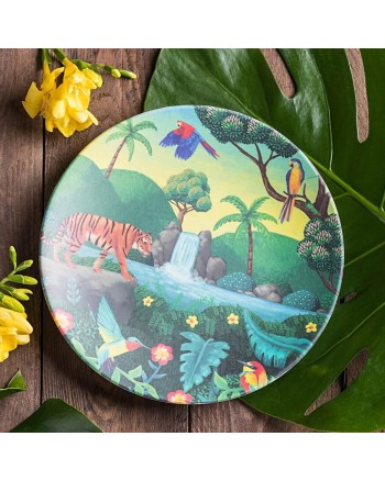 Tommy Lise Chasing Waterfall Bambusový tanier