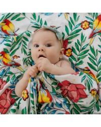Tommy Lise Bambusová Mušelínová plienka Blooming Day