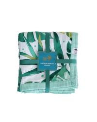 Mušelínová deka Tommy Lise Roaming Mangrove