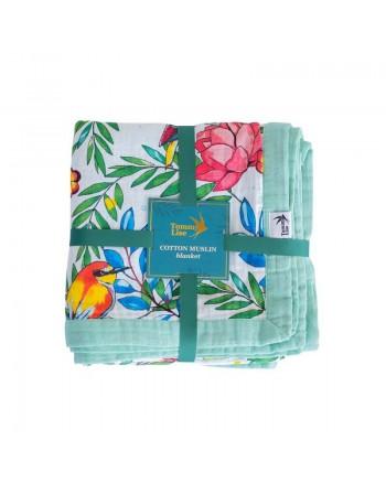 Mušelínová deka Tommy Lise Blooming Day