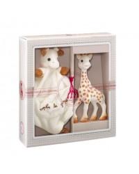 Vulli môj prvý darčekový set - žirafa Sophie & maznáčik