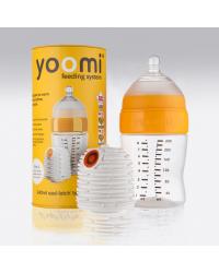 2v1 Dojčenská fľaša 240ml + ohrievač YOOMI