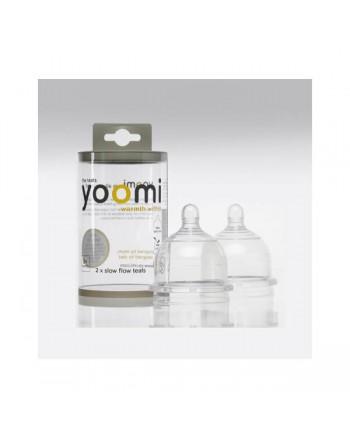 Cumlík na fľašu YOOMI - rýchly prietok 2ks